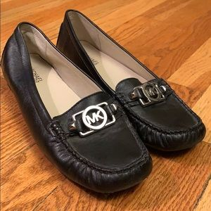 Michael Kors Black Loafers Size 9